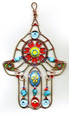 Home Decor - Rustic Hamsa Hand - Unique Gifts & Jewelry Hand Der Fatima, Hamsa Art, Israeli Jewelry, Jewish Jewelry, Jewish Gifts, Hippie Chic, Modern Hippie, Hippie Fashion, Bohemian Gypsy