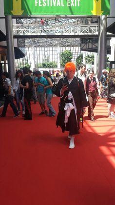 Japan Expo starts !! #MangaTvJE15 #JE15 #bleach #cosplay