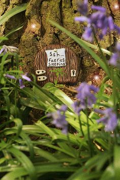 fairy door, photo avaliable from gingerlillytea