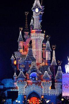 Luces de Navidad en París, Francia