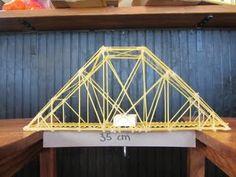 Design and build a pasta bridge #Spectrumlearn #STEM #Lessons. Pittig