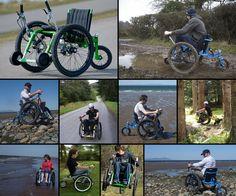 Mountain Trike, the all terrain wheelchair