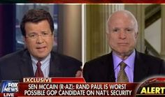 Fox and LYING McCain: Paul 'The Worst Possible Candidate' On National Security