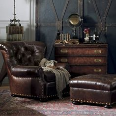 Writer's Chair - Chairs / Ottomans - Furniture - Products - Ralph Lauren Home - RalphLaurenHome.com