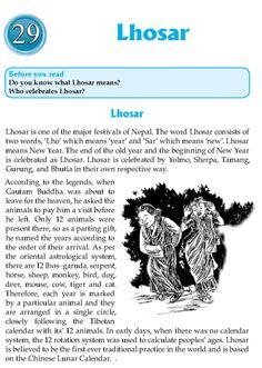 Literature Grade 8 Nepal Special Lhosar http://literature.wordzila.com/literature-grade-8-nepal-special-lhosar/