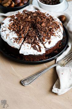Gaštanový koláč - bez lepku a laktózy