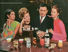 Bacardi in the 60s...