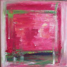 """""""Pink"""" aus der Reihe """"Zu Dritt"""" by AbstrART painting, acryl, abstract"""