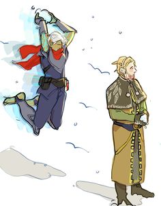 Fenris and Anders