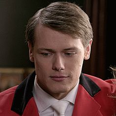 """Sam Heughan in """"A Princess for Christmas""""."""