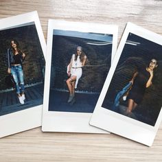 """""""Here's a little Polaroid sneak peek of my next get the look video. Where my @gigihadid fans at?! --Filming the rest of the looks tomorrow & warning these…"""""""