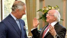 In pictures: Irish president in UK