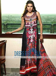Style DRP1205 - DRP1205, Ayesha Zara Eid ul Adha Lawn Collection 2013 by Al Zohaib Textiles Newcastle upon Tyne UK by www.dressrepublic.com