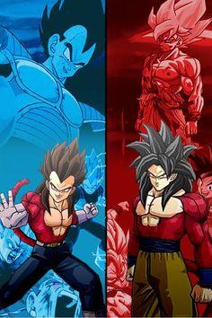 Vegeta's and Goku's