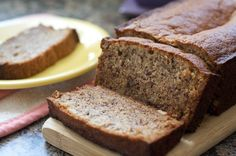 Whole wheat banana bread recipe banana bread low sugar and bananas flours famous banana bread forumfinder Images
