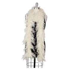 Zucker Feather (TM) - Ostrich Boas Solid Colors Ivory 29.95