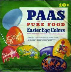 Easter egg kits from the purely colorful. Coloring Easter Eggs, Pureed Food Recipes, Color Box, Egg Decorating, Easter Recipes, Spring Crafts, Kit, Holiday Decor, 1940s