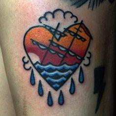 Valeu rapa do last five #tattoo #hearttattoo #flashday