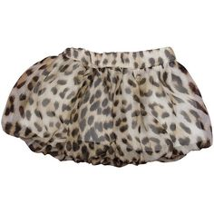Roberto Cavalli Baby Girls Silk Leopard Print Skirt found on Polyvore featuring polyvore and baby