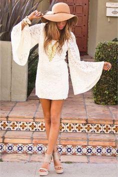 white dress fashion - Bing Images
