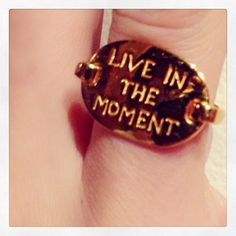 Live In The Moment Ring | Spotted on @mirandakerr