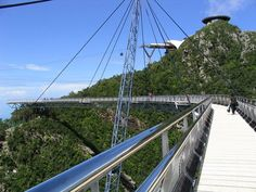 Bridge at summit, Langkawi-30 most beautiful places to see before you die