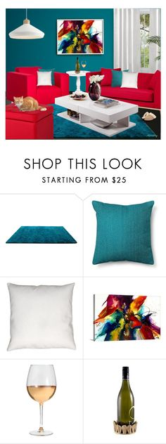 """""""THE WIND DOWN"""" by arjanadesign ❤ liked on Polyvore featuring interior, interiors, interior design, home, home decor, interior decorating, Room Essentials, Marc Blackwell, UGG and livingroom"""
