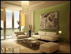 Living room accent wall color