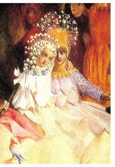 The Marriage of Oberon and Titania by John Anster Fitzgerald