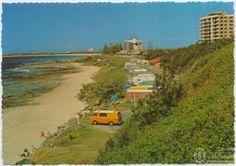 Mooloolaba Caravan park 1970 Family Holiday Destinations, Simply Home, Summer Feeling, Sunshine Coast, Gold Coast, Time Travel, Caravan, Old Photos, Wwii