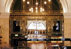 THE WOLSELEY dining experience is unlike any other. Whether you book for breakfast, lunch, dinner or merely tea, you can be SURE of impeccable service. Although booking availability is often scarce, it is for good reason. The spectacular listed interior is breathtaking and the food is as wonderful as the marble floors and high ceilings. It seems to be almost common knowledge that breakfast at the Wolseley is unbeatable. 160 Piccadilly (next to the Ritz), W1J 9EB.