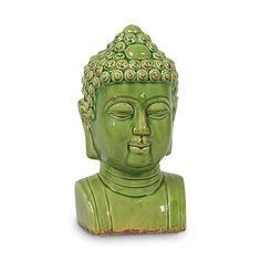 Ceramic Buddha.