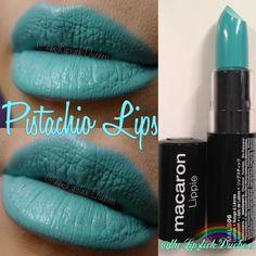 Pistachio Lips Nyx Macaron, Macarons, Beauty Corner, Lip Art, Nyx Cosmetics, Pistachio, Beauty Makeup, Make Up, Lipstick