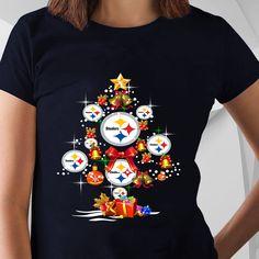 8af5500b Pittsburgh Steelers Christmas Tree Shirt