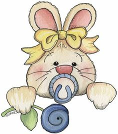 Sweet Beginnings - Babies & kids - Picasa Web Albums Tatty Teddy, Cute Images, Cute Pictures, Quilt Baby, Cute Clipart, Country Paintings, Baby Bunnies, Bunny, Children Images