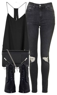 Untitled #6069 by laurenmboot on Polyvore featuring polyvore, fashion, style, Topshop, Zimmermann, Yves Saint Laurent, Shaun Leane and clothing