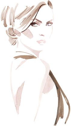 Christian David Moore Fashion Illustrations