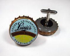 Beer Cap Cuff Links