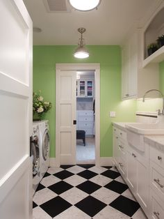 Eclectic Laundry Room Design, Pictures, Remodel, Decor and Ideas