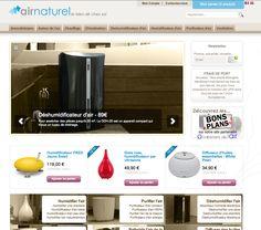 airnaturel.com.  Site magento autour du bien air chez soi