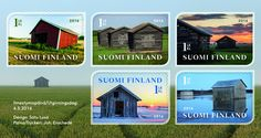 pm-suomen-ladot Homeland, All Over The World, Time Travel, Postage Stamps, Mansions, Country, House Styles, Barns, Buildings