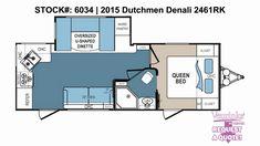 Dutchmen Denali Fifth Wheel Floor Plans