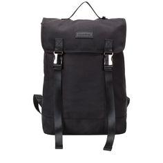 Black Backpack, Backpacks, Bags, Fashion, Handbags, Moda, Fashion Styles, Backpack, Fashion Illustrations