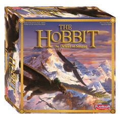 Playroom Entertainment The Hobbit: The Defeat of Smaug Board Game, Blue