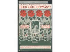 """This sheet music is for the song """"If He Can Fight Like He Can Love Good Night, Germany!"""" Here's a sample of the lyrics from this World War I-era song: """"If he's just half as good in a trench/As he was in the park on a bench/Then every Hun/Had better run!"""" Click for more interesting items in our online collection."""