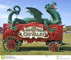 Old Time Circus Wagon Royalty Free Stock Photos - Image: 10111928