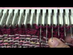 How to do a loose bindoff that is somewhat stretchy on a plastic knitting machine