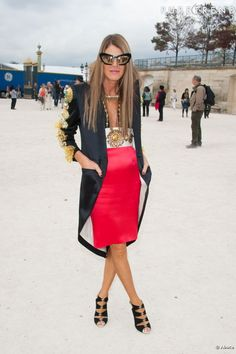 Anna Dello Russo, editor-at-large and creative consultant for Vogue Japan