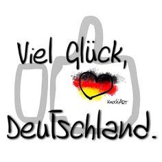 ⚽️ Heute Abend sind die meisten wieder im Fußball#fieber  Viel #Glück  #Deutschland   Was tippt ihr so !? #fußball #wm2014 #spruch #sprüche #sprüche4you #sketch #herz für #germany ✌️
