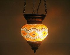 Orange yellow moroccan lantern mosaic hanging lamp glass chandelier light turkish candle holder h 138 handmade_antiques http://www.amazon.com/dp/B01EEM9L7C/ref=cm_sw_r_pi_dp_3bafxb0SCH98F